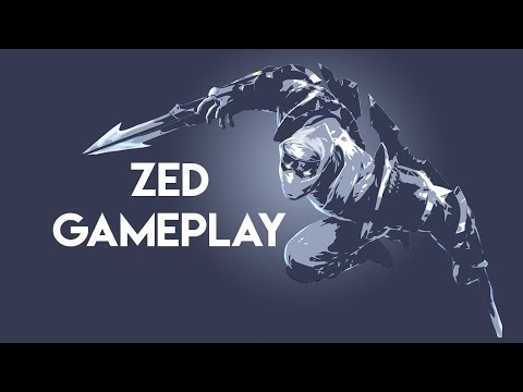 I played zed, it wasn't pretty