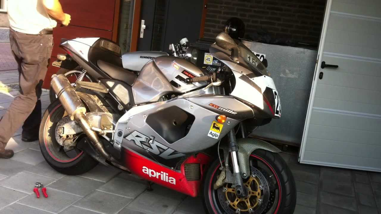 Aprilia Rsv Mille Brutal Sound  Modified Exhaust