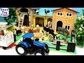 Fun Farm Animals Barn Stable Playset and Animal Toys