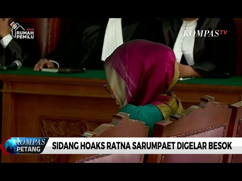 Sidang Hoaks Ratna Sarumpaet Digelar Selasa, 19 Maret 2019