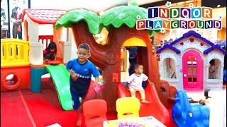Bermain di Indor Playground | Mainan Anak Indoor