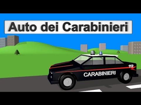 Auto dei Carabinieri - AlexKidsTV