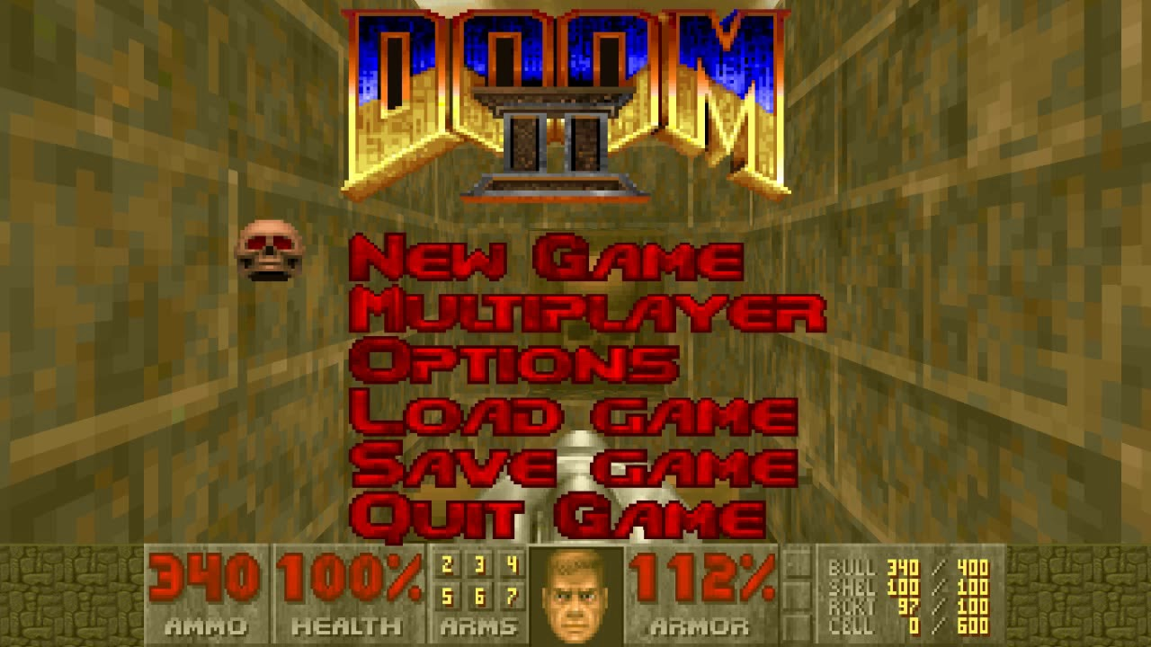 Doom 2 Soundtrack (Wad-Temple of The Lizard man-) Level 6