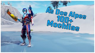 SHOWING THE ACE OF THE ALPS & 100 + BACKPACKS | FORTNITE