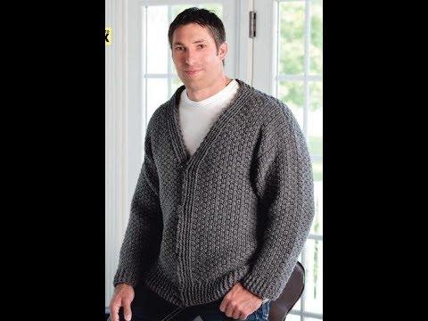 Free English Crochet Patterns For Crochet Sweater For Men 2160