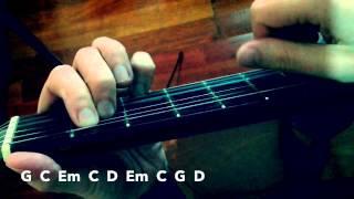Capitán Tapon Alejandro Sanz guitarra acordes