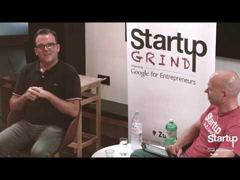 Reto Lämmler (TestingTime) at Startup Grind Zurich w/ David Butler