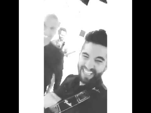 KENDJI GIRAC et son guitariste el titi