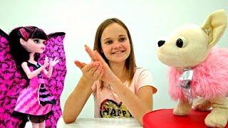 Показ мод Монстер Хай и Чичилав - Видео для девочек
