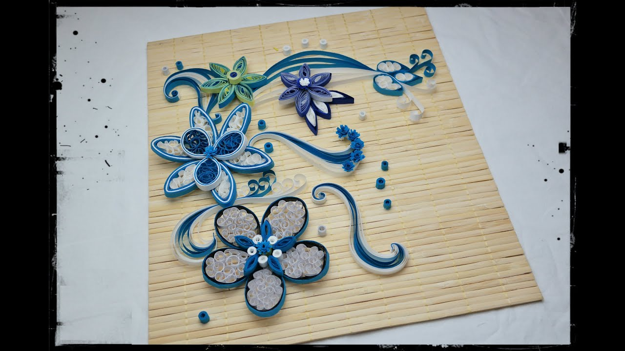 Quilling Design   DIY Wall Decoration   Quilling Pictures (EASY U0026 SIMPLE)    YouTube
