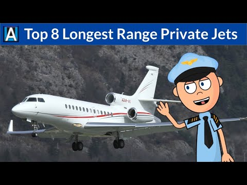 Top 8 Longest Range Private Jets In The World