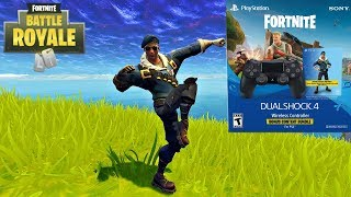 NEWEST & EASIEST WAY TO GET THE ROYALE BOMBER SKIN IN FORTNITE! (PS4 CONTROLLER BUNDLE)