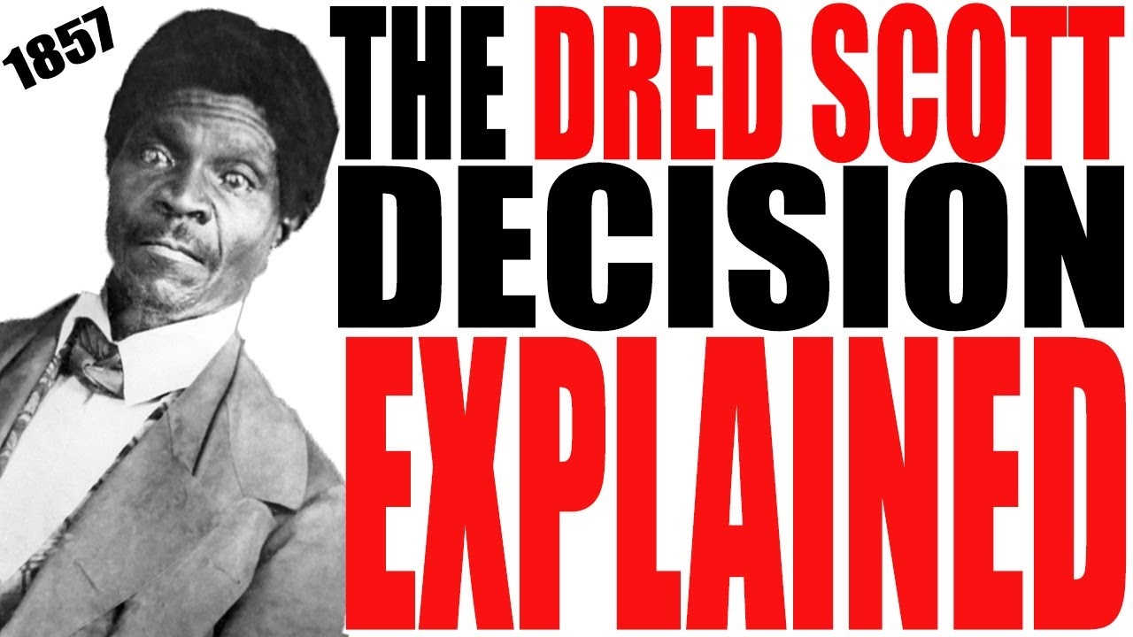 an analysis of the dred scott decision Scott v sandford decision 60 us 393 scott v sandford () argued: decided: ___ syllabus dred scott ) v ) plea to the the decision of that question belonged to the political or lawmaking power.