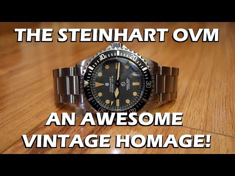 Steinhart Ocean Vintage Military Automatic Dive Watch Review - Perth WAtch #66