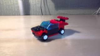 Как сделать гоночную машинку из лего^-^