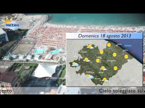 Fano, previsioni meteo del 17-18 agosto 2013