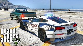 GTA 5 MODS LSPDFR 874 - SUPERCARS PATROL!!! (GTA 5 REAL LIFE PC MOD)
