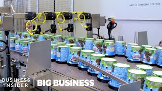 How Ben &amp Jerrys Makes Nearly One Million Pints A Day  Big Business