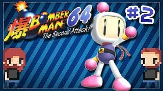Bomberman 64 The Second Attack [ep2] Big Headed Bastards
