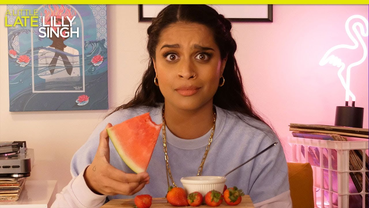 Lilly Gets Inappropriate Breaking Down the Lyrics for Harry Styles' Watermelon Sugar