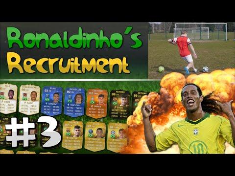 FIFA 15 - Ronaldinho's Recruitment | EP. 3 (CROSSBAR CHALLENGE)