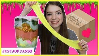 Huge Fan Mystery  Box Slime Smoothie / JustJordan33