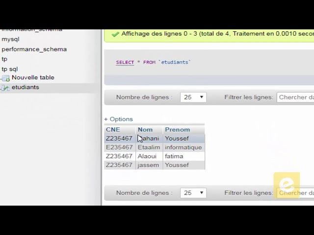 SQL 11: Définition de Données :Création et Insertion