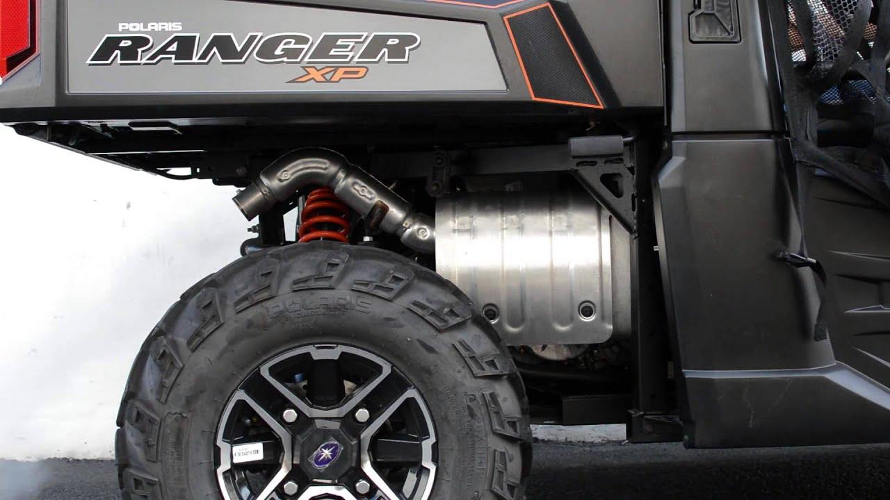 polaris ranger xp 900 big gun exhaust exo series vs stock system