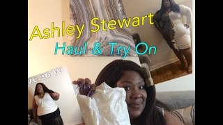 Plus Size Try On Haul | Ft. Ashley Stewart CLEARANCE SALE | D