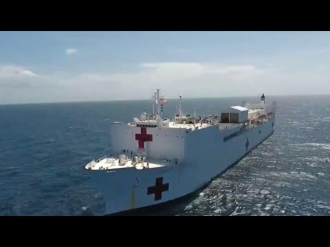 U.S. Navy Ship Provides Venezuelan Refugees With Desperately Needed Medical Care | NBC Nightly News