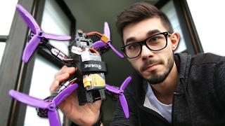 JE TESTE UN DRONE DE COURSE ...