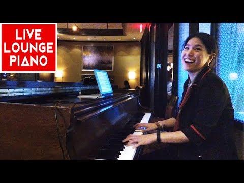 Autumn Leaves & Misty Solo Piano | Live Lounge Piano Improvisation