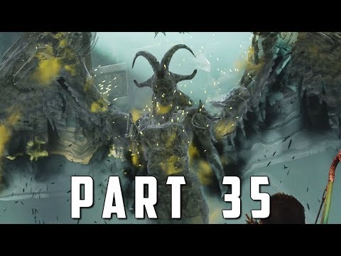 GOD OF WAR Walkthrough Gameplay Part 35 - KARA VALKYRIE BOSS (God of War 4)