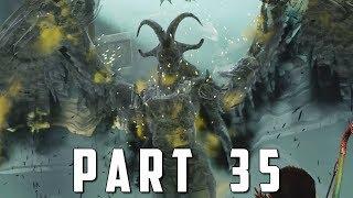 GOD OF WAR Walkthrough Gameplay Part 35 - KARA VALKYRIE BOSS (God of War 4)