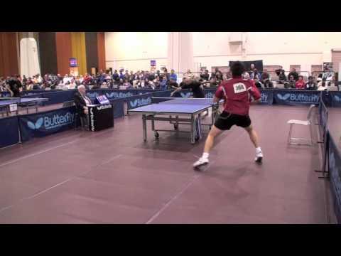Jeff Lin Huang vs David Fernandez  Singles 8's