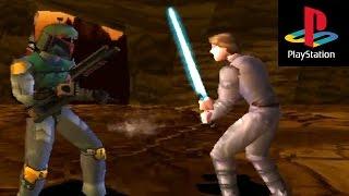 PS1 Star Wars Fighting Game - Masters of Teras Kasi!