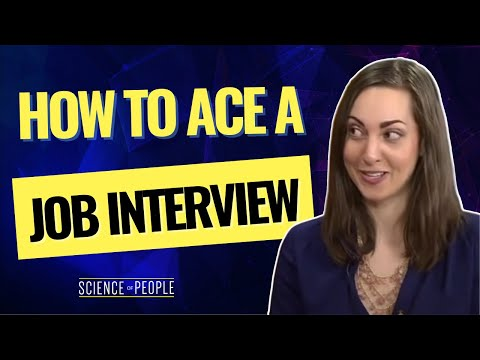 How to Ace a Job Interview with Your Body Language