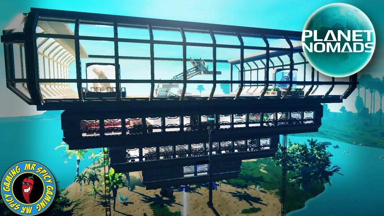 VIDRO EM TODA PARTE - gameplay de Planet Nomads S2 Ep33 + vídeo