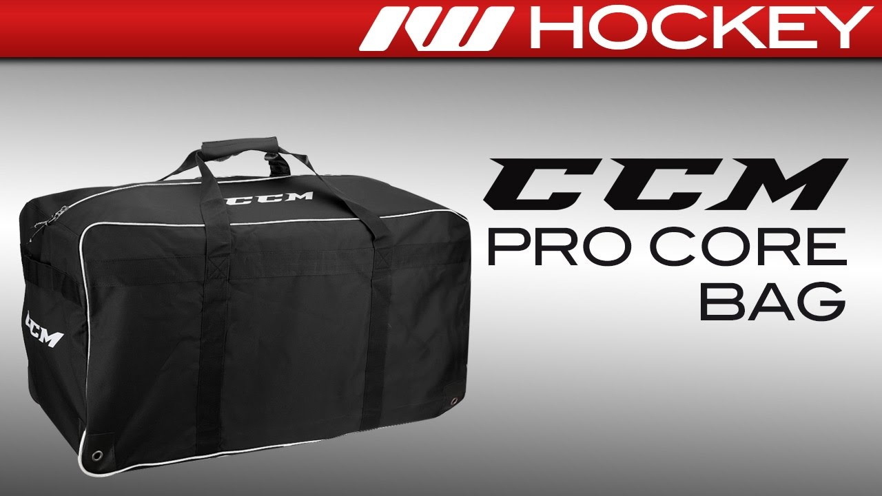 042f08956ad CCM Pro Core Hockey Bag Review - YouTube