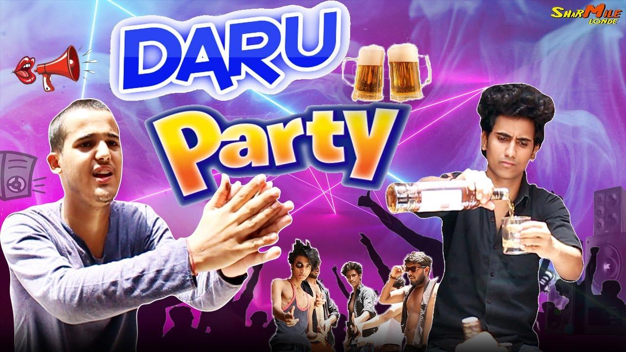 DARU PARTY | Nasedi be Like 2021 | Sasta Nasha | Sharmile Londe