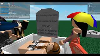 Happened about Ari's Funeral ROBLOX