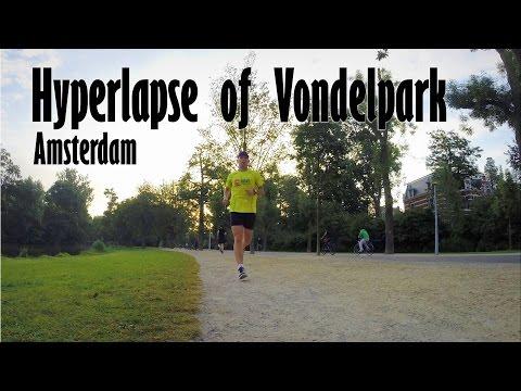 Hyperlapse in Vondelpark, Amsterdam