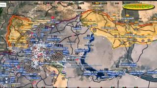 Сирия сегодня 2016!!!Обзор карты боевых действий в Сирии,Йемене от 06 12 2015 год