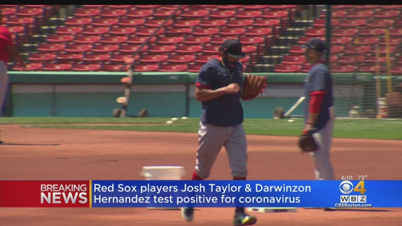 Red Sox Players Josh Taylor, Darwinzon Hernandez Test Positive For Coronavirus