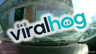 Wind Blows Door into Car || ViralHog