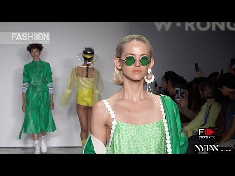 W-RONG - ICY SUPERNOVA Spring Summer 2019 New York - Fashion Channel