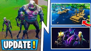 *ALL* Fortnite 6.2 Changes! | Zombies, Evolving Skin, 2 Weapons! ( Update )
