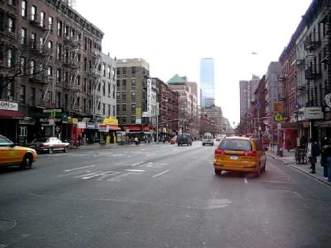 9th Avenue and 52nd Street - New York City