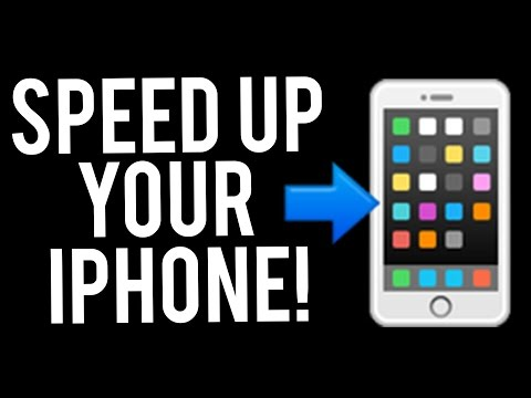 How to Speed up ANY iPhone (iPhone Trick/Hack)