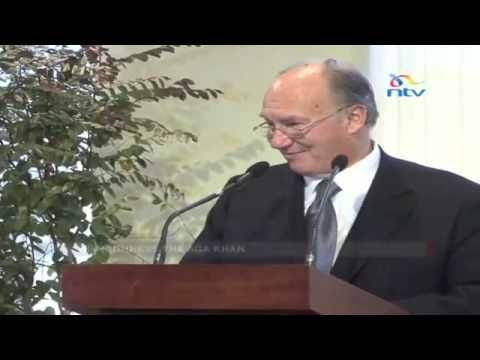His Royal Highness the Aga Khan and govt sign City Park face lift agreement